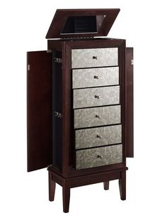 Ava Jewelry Armoire with Mirror