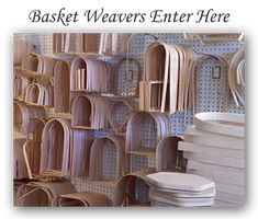 Willowe's Basketry & Yarn Haus | Basket and Yarn Supplies Greenfield, Indiana---They have lots of patterns.  Also have ceramic handles for casserole carrier basket pattern.