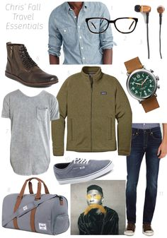 Mens Fall Travel Essentials - LoveandSpecs.com