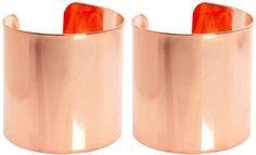 ShopStyle: @asos.com Rose Gold Cuffs $26.09