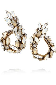 Erickson Beamon crystal earrings