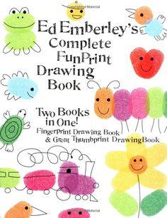 Amazon.com: Ed Emberley's Complete Funprint Drawing Book (9780316174480): Ed Emberley: Books