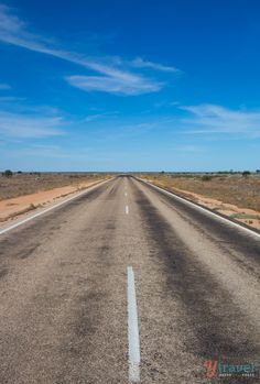 The Nullarbor, Australia - Longest straight stretch of road in the world.