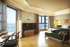Suite con vistas al mar en hotel de lujo en Tenerife