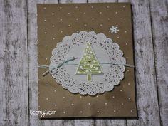 stampin with beemybear: Tütchen, Polka Dots, StampinUp, Weihnachten, Christmas
