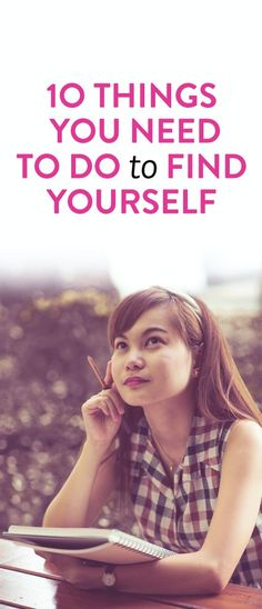 how to get to know yourself better