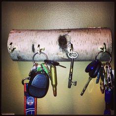DIY Key holder! We made this at zero cost!