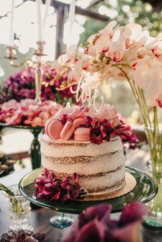 Poliana e Gustavo | Um mini wedding romântico e boho para te inspirar Boho Chic, Naked Cakes, Budget Wedding, Wedding Ideas, Bridal Shower, Mini, Wedding Photography, My Favorite Things, Desserts