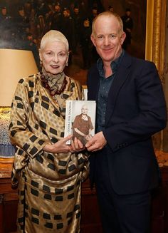 Vivienne Westwood by Vivienne Westwood & Ian Kelly Launch Book Party - Vivienne and biographer, Ian Kelly