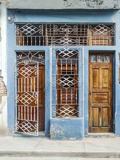 Cuba's Most Decorative Doorways and Colorful Facades|Pinterest: theculturetrip