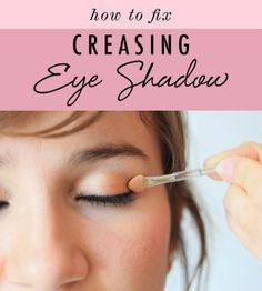 How to prevent and fix eye shadow creases - The Beauty Goddess