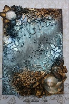 Magic Canvas by Asia Lubera - Creative Embellishments