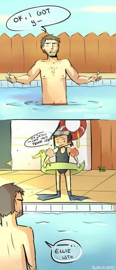 the last of us...swimming pool joke