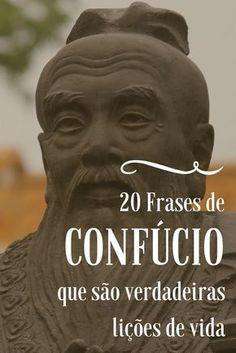 Frases de Confúcio. As frases mais inspiradoras de Confúcio e da filosofia oriental!