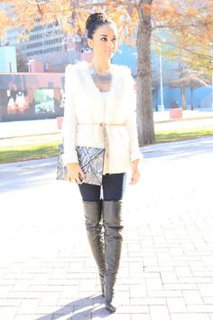 White Winter (by Mayte Doll) http://lookbook.nu/look/2769761-White-Winter