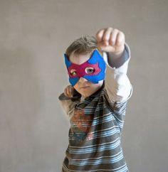 Masque de super-héros - Ateliers reinette - Bal de famille