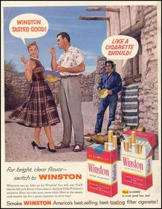Vintage Cigarettes Posters