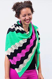 Madelinetosh Escalation Shawl Kit - Scarf and Shawls Kits at Jimmy Beans Wool Garter Stitch, Ravelry, Knit Crochet, Knitting Patterns, Kit, Shawls, Beans, Wool, Fashion