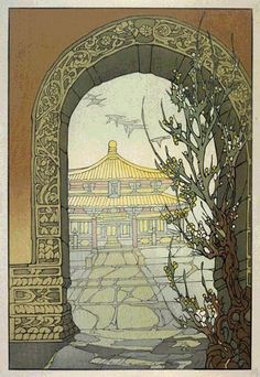 Hall of Classics  by Bertha Lum, 1936