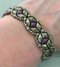 Linda's Crafty Inspirations: Free Beading Pattern - Tammy Bracelet