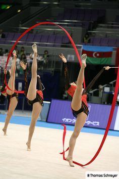 Group FRANCE 2 Ropes 3 Ribbons