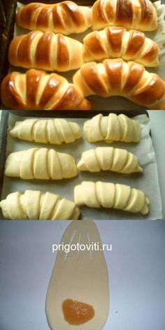 Pastry Recipes, Baking Recipes, Healthy Cookies For Kids, Bread Shaping, Breakfast Recipes, Dessert Recipes, Homemade Pastries, Slow Cooker Desserts, Easy Banana Bread