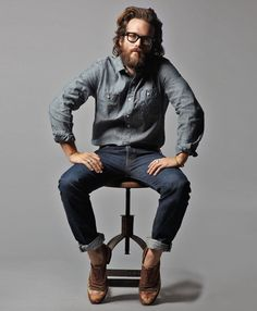 man in jeans.