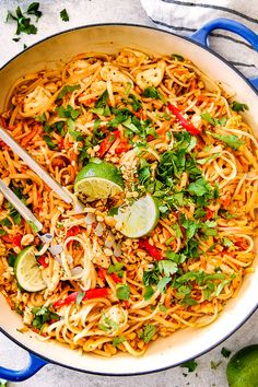 Chicken Pad Thai - Powered by @ultimaterecipe