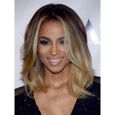 ombre for medium length hair | Ciara Ombre Medium Hairstyle 2013 Popular Haircuts