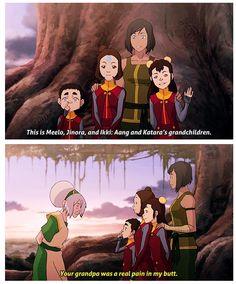 Avatar The Last Airbender/Legend of Korra: Toph never changed. Avatar Aang, Avatar Airbender, Avatar The Last Airbender Funny, The Last Avatar, Avatar Funny, Team Avatar, Aang Funny, Avatar Facts, Avatar Series