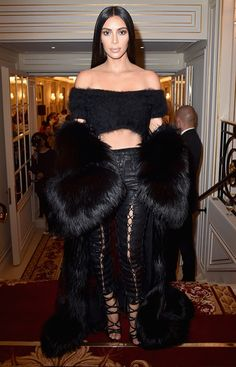 Kim Kardashian revoluciona Paris Fashion Week