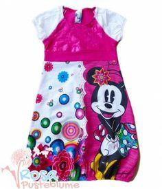 Desigual Kids Mädchen 42V3D00 Kleid BANA in fuchsia rose mit Minnie Maus