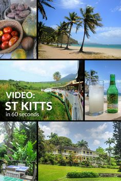 Video: The Caribbean island of St Kitts in 60 seconds Caribbean Culture, Southern Caribbean, Best Places To Travel, Culture Travel, Amazing Destinations, St Kitts And Nevis, Travel Around The World, Beautiful Beaches, Travel Inspiration