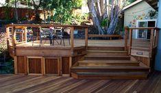 Redwood Deck Project Plans