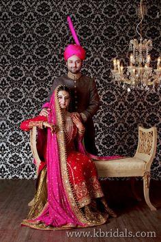 Pakistani couple wedding shoot by K. Bridals   SWSays - the Pakistani Wedding Blog
