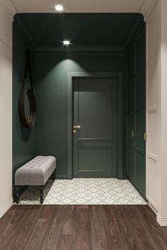 Home Room Design, Home Interior Design, Interior Architecture, Interior Decorating, Hall Interior, Apartment Interior, Apartment Design, Retro Apartment, Flur Design