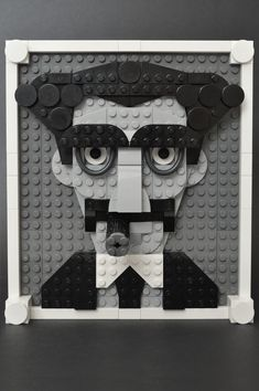 Portrait of a legend: Grouch Marx in LEGO