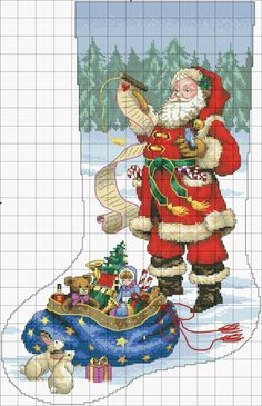 Brilliant Cross Stitch Embroidery Tips Ideas. Mesmerizing Cross Stitch Embroidery Tips Ideas. Cross Stitch Christmas Stockings, Cross Stitch Stocking, Christmas Stocking Pattern, Xmas Cross Stitch, Cross Stitch Needles, Christmas Cross, Counted Cross Stitch Patterns, Cross Stitch Charts, Cross Stitch Designs