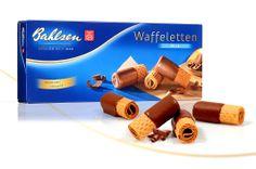 Bahlsen Waffeletten / These German wafer rolls are the best!