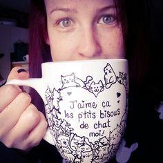 Mug / tasse personnalisée chats