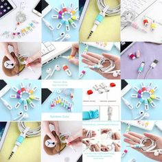Rainbow-Earphone-Wire-Earphone-Cable-Cord-Winder-Organizer-Wire-Cable