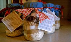 Cowboy Cookies in a Mason Jar