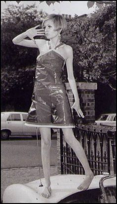 Twiggy, so fashion Style Twiggy, Twiggy Model, Sixties Fashion, Mod Fashion, Vintage Fashion, Fashion Trends, Love Her Style, Fashion Story, Mode Outfits