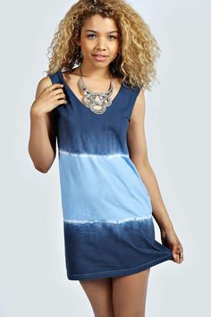 Nicola Tie Dye Low Back Dress alternative image