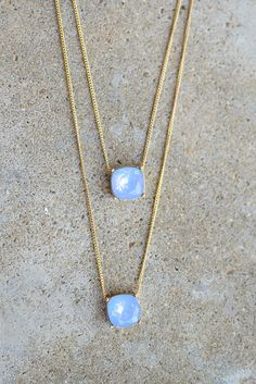 Coralie Necklace - Periwinkle