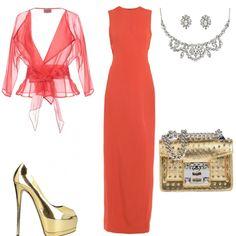 d1ed7f57683e  mi vesto bene con p.di + notte Oscar  outfit donna Chic per serata fuori