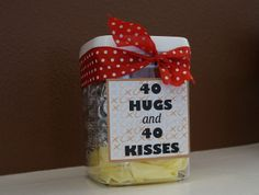 Quick And Easy 40th Birthday Gift Hug Teacher Gifts Presents