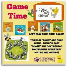 Usborne Facebook Party Games | Facebook party games | Pinterest ...