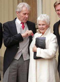 Remarkable Image Result For Judi Dench And David Mills Judi Dench And David Hairstyles For Men Maxibearus