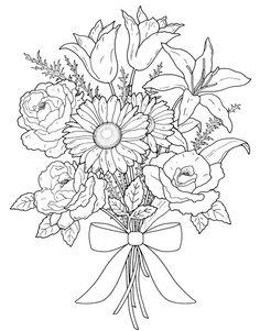flores para pirograbar